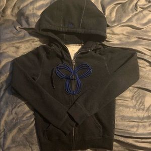 Tna zip up hoodie size small